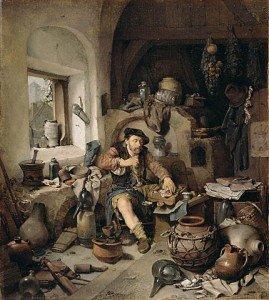 cornelis-pietersz-beda-the-alchemist-1663